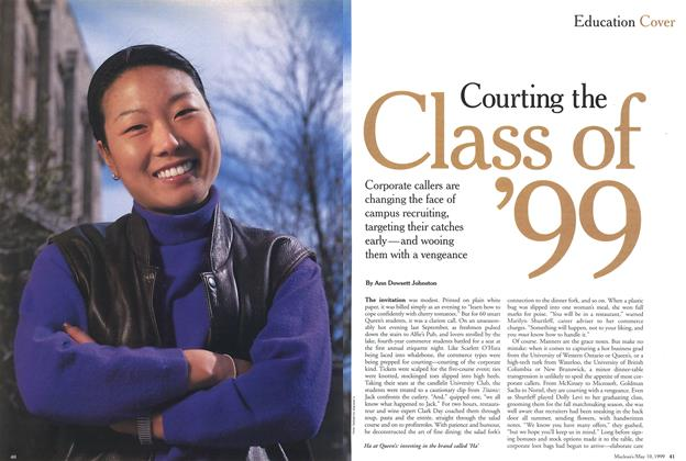 Article Preview: Courting the Class of '99, May 1999 | Maclean's