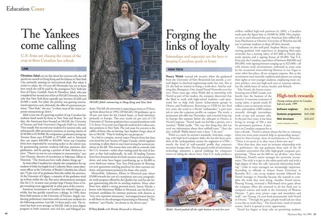 Article Preview: Forging the links of loyalty, May 1999 | Maclean's