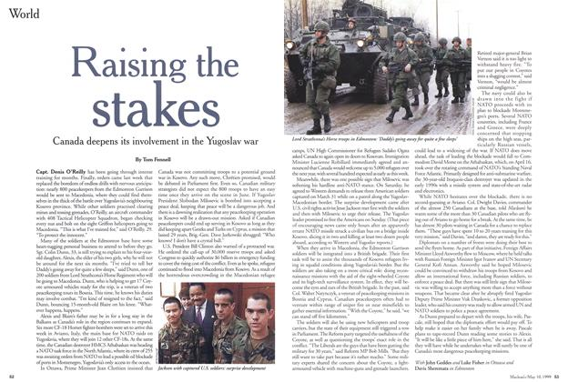 Article Preview: Raising the stakes, May 1999 | Maclean's