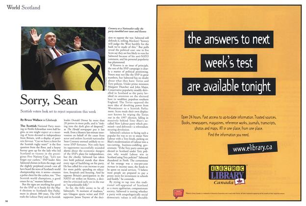 Article Preview: Sorry, Sean, May 1999 | Maclean's