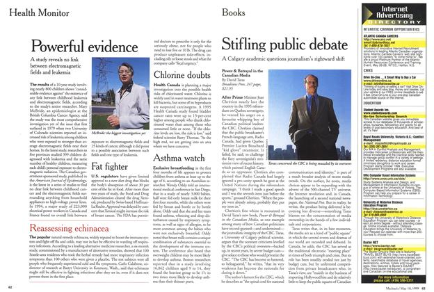 Article Preview: Stifling public debate, May 1999 | Maclean's