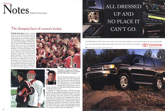 Article Preview: Opening Notes, May 1999   Maclean's