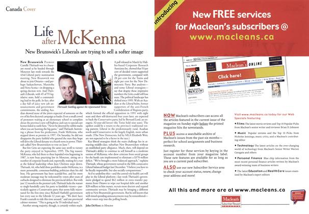 Article Preview: Life after McKenna, May 1999 | Maclean's