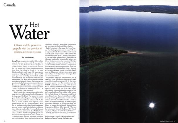 Article Preview: Hot Water, May 1999 | Maclean's