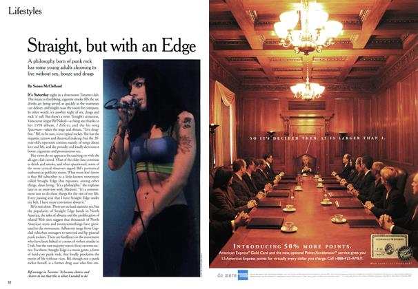 Article Preview: Straight, but with an Edge, May 1999 | Maclean's