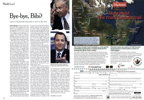 Article Preview: Bye-bye, Bibi?, May 1999 | Maclean's