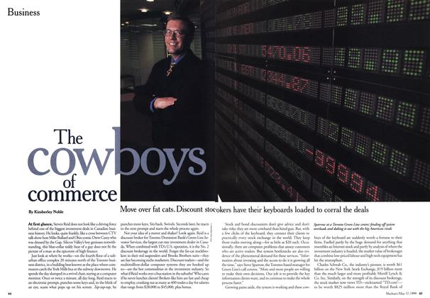 Article Preview: The cowboys of commerce, May 1999 | Maclean's