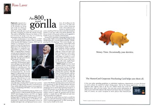 Article Preview: An 800 pound gorilla, May 1999 | Maclean's