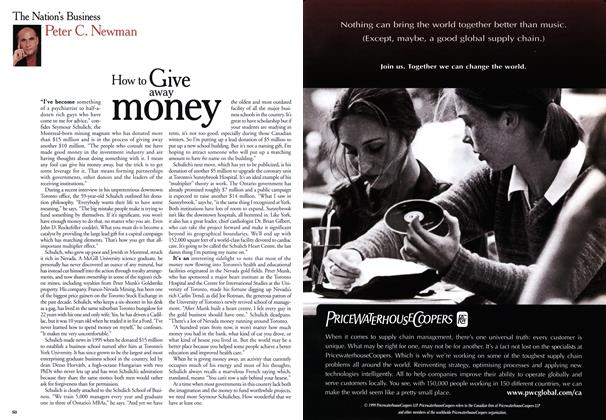 Article Preview: How to Give away money, May 1999 | Maclean's
