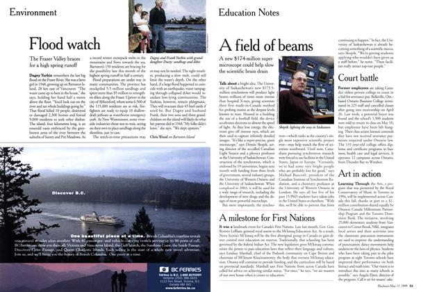 Article Preview: Flood watch, May 1999 | Maclean's