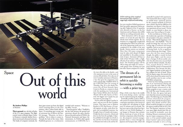Article Preview: Out of this world, May 1999 | Maclean's
