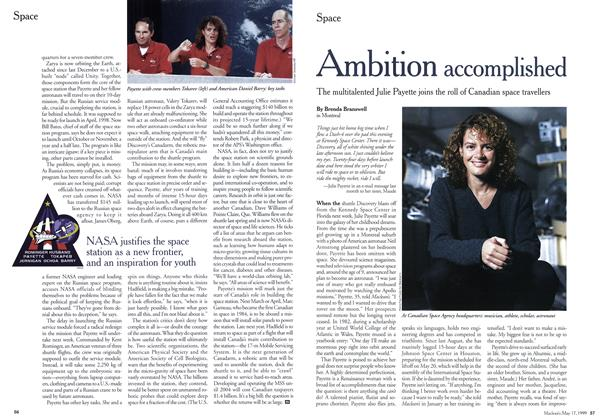 Article Preview: Ambition accomplished, May 1999 | Maclean's
