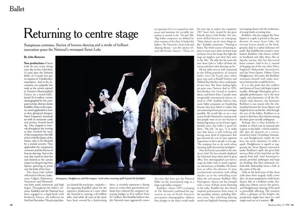 Article Preview: Returning to centre stage, May 1999 | Maclean's