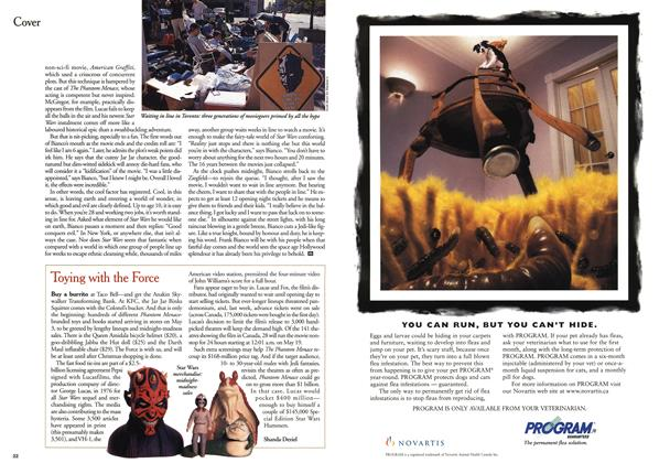 Article Preview: Toying with the Force, May 1999 | Maclean's