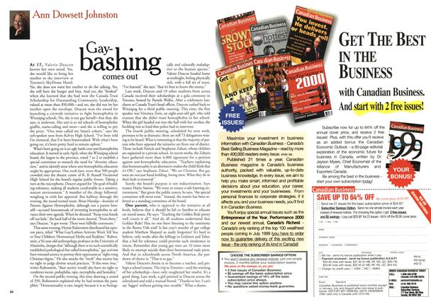 Article Preview: Gay-bashing comes out, May 1999 | Maclean's