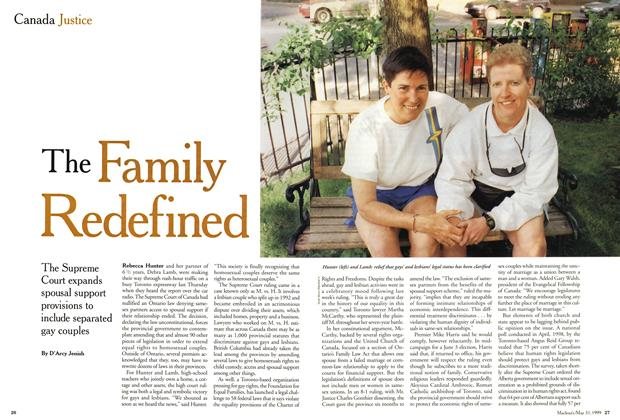 Article Preview: The Family Redefined, May 1999 | Maclean's