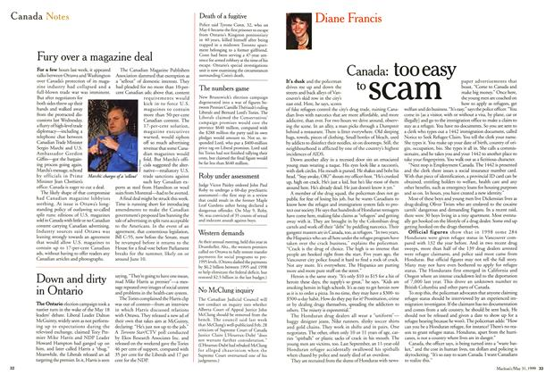 Article Preview: Canada Notes, May 1999 | Maclean's