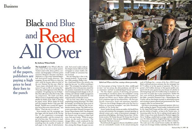 Article Preview: Black and Read All Over, May 1999 | Maclean's