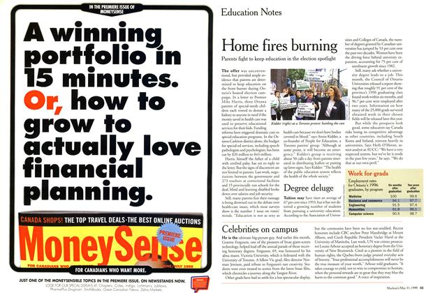 Article Preview: Education Notes, May 1999 | Maclean's