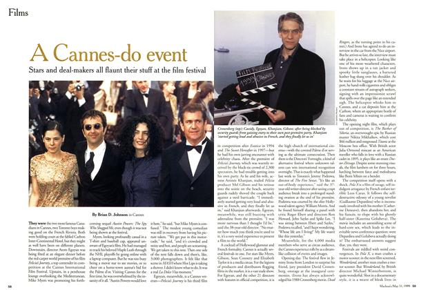 Article Preview: A Cannes-do event, May 1999 | Maclean's