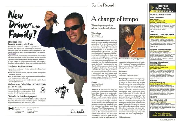 Article Preview: A change of tempo, May 1999 | Maclean's