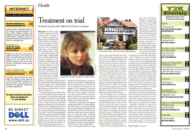 Article Preview: Treatment on trial, May 1999 | Maclean's
