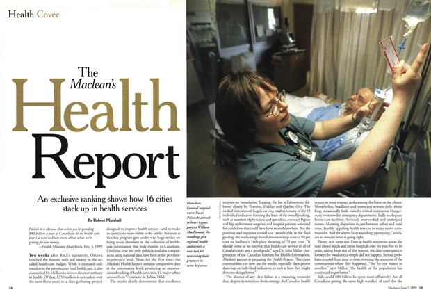 Article Preview: The Maclean's health Report, June 1999 | Maclean's