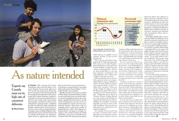 Article Preview: As nature intended, June 1999 | Maclean's
