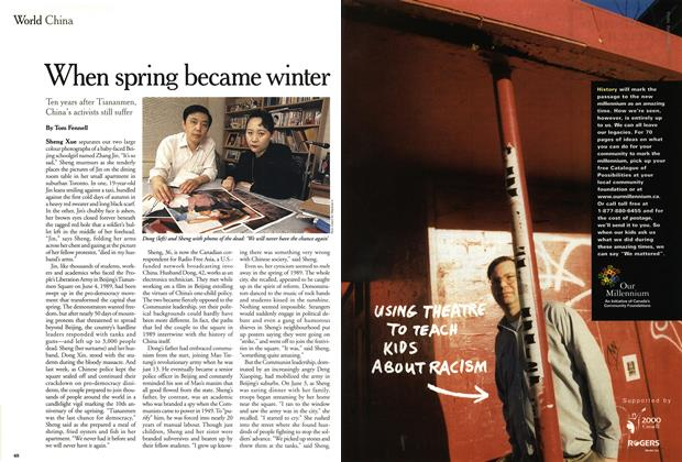 Article Preview: When spring became winter, June 1999 | Maclean's