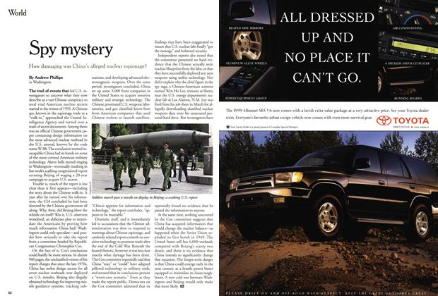 Article Preview: Spy mystery, June 1999 | Maclean's