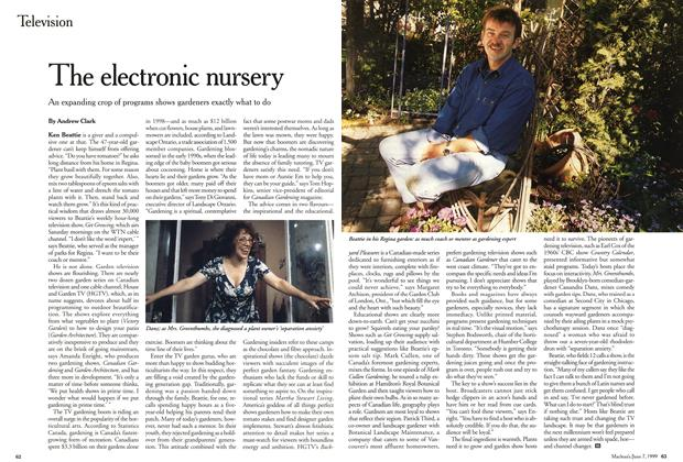 Article Preview: The electronic nursery, June 1999 | Maclean's