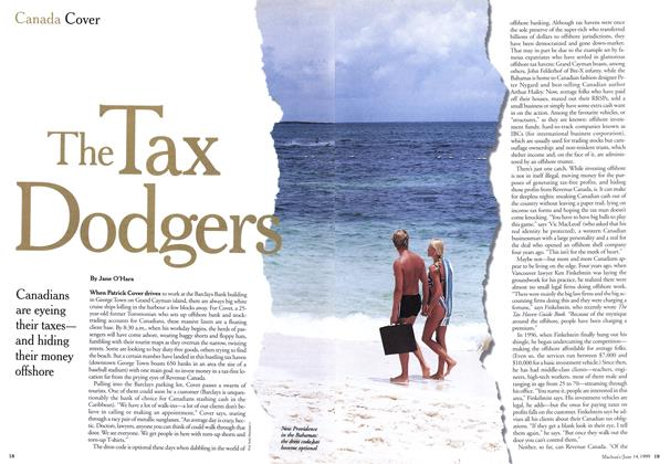 Article Preview: The Tax Dodgers, June 1999 | Maclean's