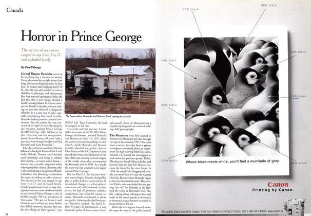 Article Preview: Horror in Prince George, June 1999 | Maclean's