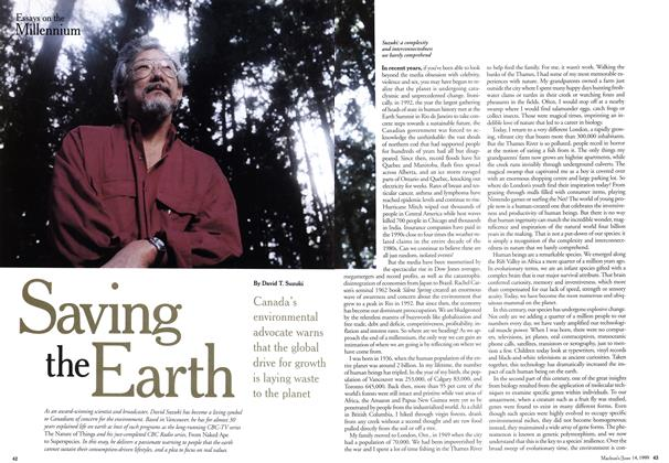 Article Preview: Saving the Earth, June 1999 | Maclean's