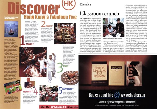 Article Preview: Classroom crunch, June 1999 | Maclean's