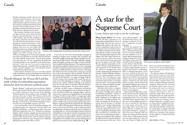 Article Preview: A star for the Supreme Court, June 1999 | Maclean's
