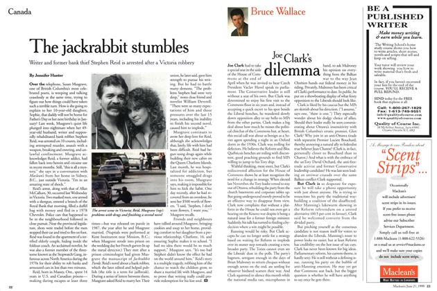 Article Preview: The jackrabbit stumbles, June 1999 | Maclean's