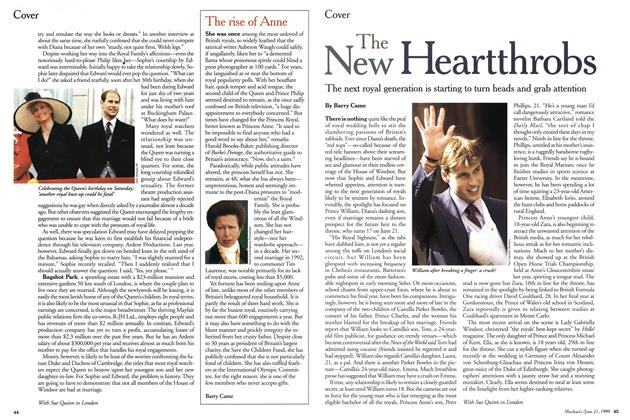 Article Preview: THE NEW Heartthrobs, June 1999 | Maclean's