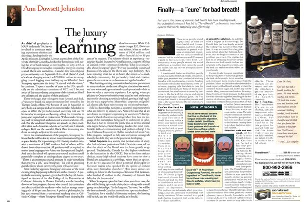 Article Preview: The luxury of learning, June 1999 | Maclean's