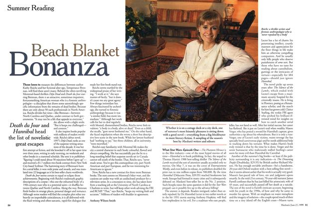 Article Preview: Beach Blanket Bonanza, June 1999 | Maclean's