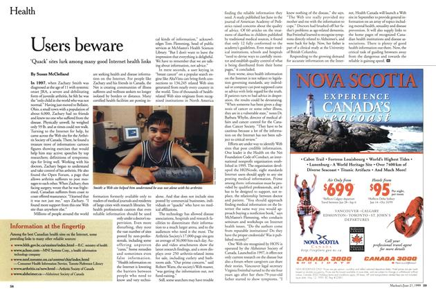 Article Preview: Users beware, June 1999 | Maclean's