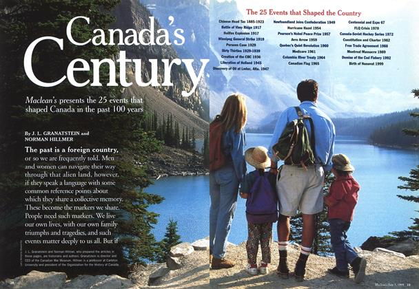 Article Preview: Canada's Century, July 1999 | Maclean's