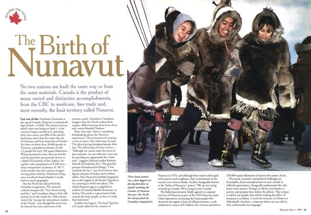 Article Preview: The Birth of Nunavut, July 1999 | Maclean's