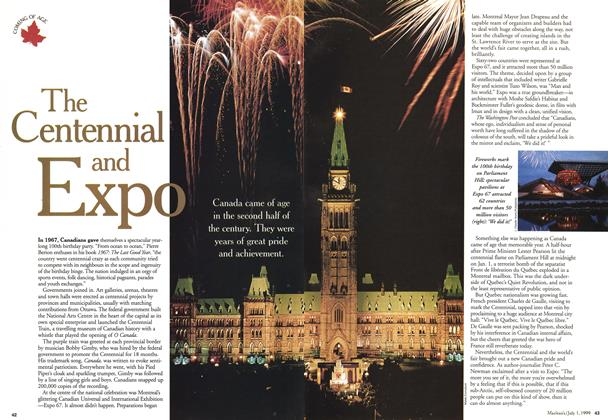 Article Preview: The Centennial and Expo, July 1999 | Maclean's