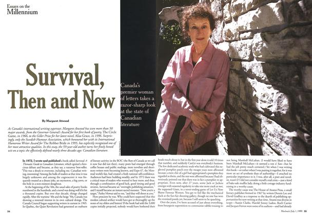 Article Preview: Survival, Then and Now, July 1999 | Maclean's