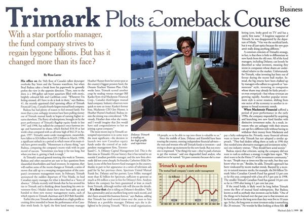 Article Preview: Trimark Plots a Comeback Course, July 1999 | Maclean's