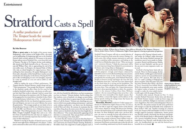 Article Preview: Stratford Casts a Spell, July 1999 | Maclean's