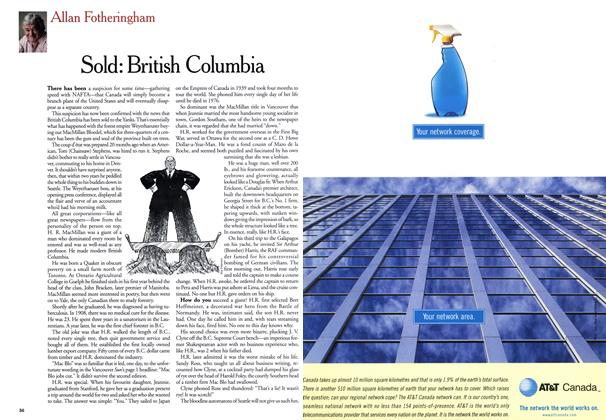 Article Preview: Sold: British Columbia, July 1999 | Maclean's