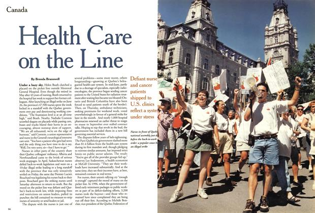 Article Preview: Health Care on the Line, July 1999 | Maclean's
