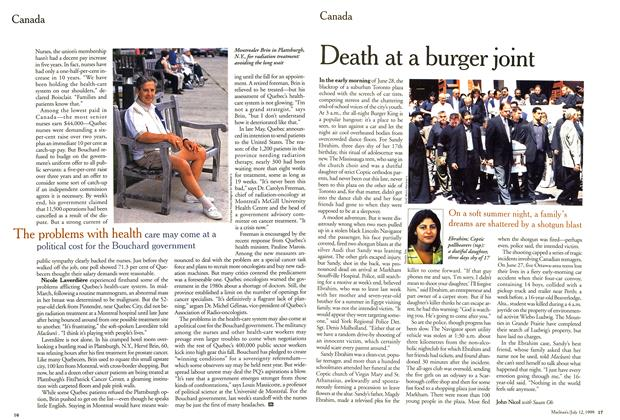 Article Preview: Death at a burger joint, July 1999 | Maclean's